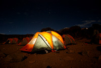Glowing Tent: 15,500 feet on Kilimanjaro (prints $35-110)