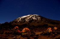 Kilimanjaro by Moonlight (prints $35-110)